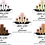Bake Cake and Decorate logo Mock-up's #2