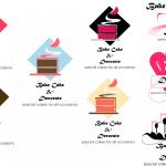 Cake, Bake and Decorate Logo Designs