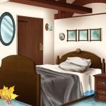 Bedroom evening